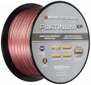 Câble enceinte compact MKIII Monster Platinum XP Clear Jacket - 30.48 mètres de la marque Monster image 0 produit