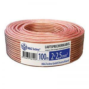câble haut parleur 100m TOP 0 image 0 produit