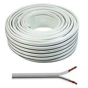 câble haut parleur blanc TOP 12 image 0 produit