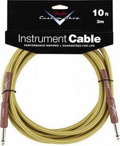 câble jack guitare fender TOP 4 image 0 produit