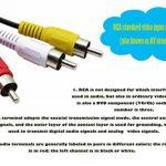 Cerrxian USB vers 3RCA câble, USB 2.0A Femelle vers 3RCA mâle Jack Audio Vidéo AV Composite câble Adaptateur pour TV/Mac/PC (1.5m) de la marque CERRXIAN image 1 produit