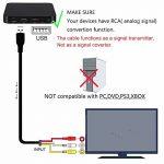 Chenduomi HDMI vers AV convertisseur 1080p HDMI vers 3RCA/AV/CVBS vidéo Composite Adaptateur Audio (Noir) (câble HDMI vers 3RCA, Noir) de la marque Chenduomi image 2 produit