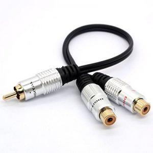 cordon audio rca TOP 9 image 0 produit
