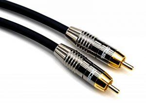 DCSk Câble audio pour Subwoofer RCA NF Audio MK II - OFC - triple blindé - 2,5m de la marque DCSk image 0 produit