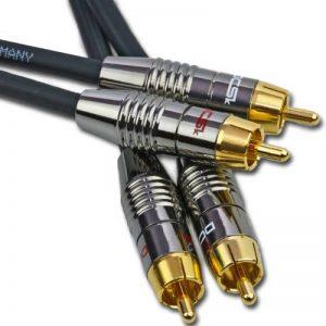 DCSk Câble audio stéréo RCA NF Audio MK II - OFC - triple blindé - 0,7m de la marque DCSk image 0 produit