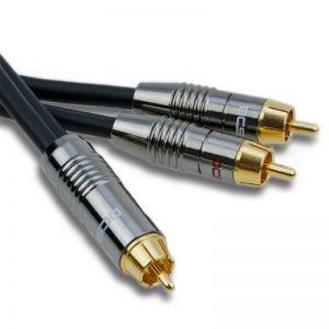 DCSk Câble Y Subwoofer RCA NF Audio MK II - OFC - triple blindé - 25m de la marque DCSk image 0 produit