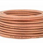 DCSk HiFi Câble Hauts Parleurs Transparent - 2x4mm² - 100m - Brins Fins - Câble Flexible - OFC (Conducteurs en cuivre désoxygéné à 99,99%) de la marque DCSk image 1 produit