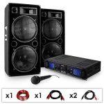 DJ PA SET DJ-27 Ampli PA + 2 enceintes USB SD MP3 de la marque E-Star image 1 produit