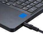 ecabo Câble stéréo jack 3,5mm à deux fiches RCA 3m – fiche RCA (rouge/blanc) à jack 3,5mm – Câble en Y – noir – pour Hi-Fi, système stéréo, récepteurs, équipement audio de la marque ecabo image 2 produit