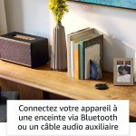 Echo Input, Blanc – Ajoutez Alexa à votre propre enceinte – Enceinte externe avec entrée audio 3,5 mm ou Bluetooth nécessaire de la marque Amazon image 2 produit