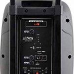 """Enceinte Active Sono Autonome Portable Boomer 10"""" 500W LED INTÉGRÉES USB Micro SD Bluetooth Micro sans Fil VHF Fonction KARAOKÉ ENTRÉES AUX/Micro par Jack 6.35 TÉLÉCOMMANDE Gamme INTERMÉDIAIRE de la marque PARTY SOUND image 3 produit"""