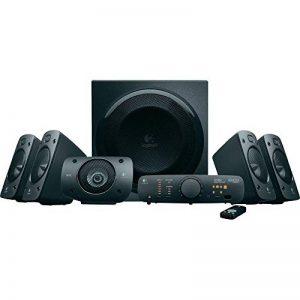 Enceintes stéréo 3D Z906 Logitech avec son Dolby Surround 51, THX, 1000W Idéales pour le salon de la marque Logitech image 0 produit