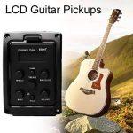EQ-4T Préampli micro EQ à 4 bandes avec accordeur pour guitare acoustique avec tuner LCD et contrôle du volume Préamplificateur de guitare électrique de la marque Formulaone image 1 produit
