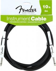 Fender Instrument BK Câble 3 m Noir de la marque Fender image 0 produit