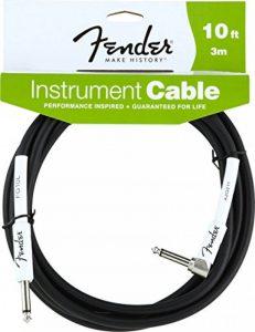 Fender Instrument BK lomený Câble 3 m Noir de la marque Fender image 0 produit