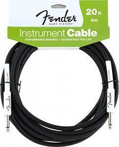 Fender Performance Serie Cable pour Instrument 6m Noir de la marque Fender image 0 produit