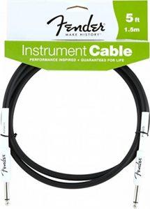Fender Performance Series Câble Instrument 1,5m - Noir de la marque Fender image 0 produit