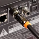 FosPower (0,9m) RCA Câble Audio Numérique Coaxial (24K Or Plaqué Connecteurs) S/PDIF RCA mâle vers / à RCA mâle pour Accueil Le théâtre, HDTV, Subwoofer, Hi-Fi systèmes de la marque FosPower image 1 produit