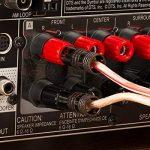 FosPower fiches Bananes (6 Paire / 12 pièces), 24K plaqué Or à Double vis Jack Speaker Banana Connectors pour Haut-Parleur, Plaque Murale et Plus (6 Rouges et 6 Blancs) de la marque FosPower image 4 produit