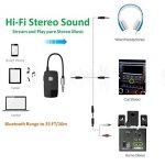 Golvery récepteur Bluetooth (Advanced Bluetooth 4.2, A2DP) - Adaptateur Audio sans Fil Portable avec 3,5 mm Jack - Profitez de la Musique pour HiFi Audio en Streaming ou Kits Voiture système stéréo de la marque Golvery image 2 produit