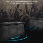 Haut-Parleur Bluetooth Enceinte sans Fil 40W, Tronsmart Force Speaker Waterproof Portable, étanche IPX7, Autonomie 15H, Technologie NFC & TWS,Compatibilité Android, Smartphone,Ordinateur de la marque Tronsmart image 4 produit