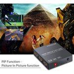 HDMI Convertisseur 3x1 HDMI Commutateur avec Audio Extracteur Analogique Optique Toslink SPDIF Sortie Support 4K 3D avec IR Télécommande HDMI Câble USB Câble 3.5mm Mâle à 2 RCA Femelle Câble de la marque Proster image 3 produit