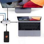 Hub USB C vers Ethernet RJ45 LAN Gigabit Adaptateur, 7 en 1 USB C vers 4K HDMI, 2 ports USB 3.0, Adapter Lecteur de Carte SD/TF et PD pour MacBook/MacBook Pro, Chromebook de la marque Raycue image 3 produit