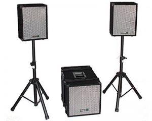 Ibiza Cube1208 Haut-parleur Noir de la marque Ibiza image 0 produit
