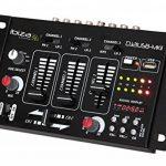 Ibiza DJ21USB-MKII Table de mixage Noir de la marque Ibiza image 1 produit