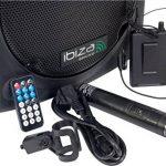 Ibiza PORT12VHF-BT Sonorisation portable 12'' USB/SD/AUX/MP3/Bluetooth Noir de la marque Ibiza image 3 produit