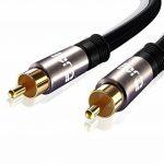 IBRA ® 1m numérique coaxiale Câble / Subwoofer Câble / câble Câble audio / vidéo - Gun Metal Range - 1 Meter de la marque IBRA® image 3 produit