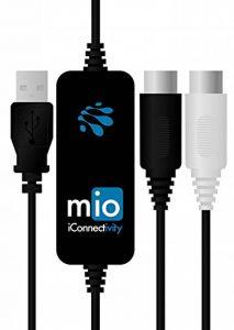 ICONNECTIVITY IMIO Interface Midi pour Mac/Pc Noir de la marque iConnectivity image 0 produit