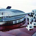 ION Audio PRO500BT - Platine Vinyle Bluetooth à Entraînement par Courroie à 2 Vitesses (33, 45 Tours) avec Préampli Phono Commutable et Conversion USB - Finition de Luxe en Bois de Noyer de la marque Ion image 1 produit