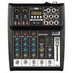 Is 2MIX4x u table de mixage compacte avec enregistreur USB Interface audio intégrée et connectivité Bluetooth de la marque Italian Stage image 2 produit
