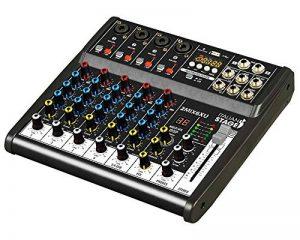 Is 2MIX6x u table de mixage compacte à 6canaux avec enregistreur USB, Interface Audio intégrée et fonction Bluetooth de la marque Italian Stage image 0 produit