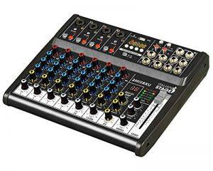 Is 2MIX8x u table de mixage compacte à 8canaux avec enregistreur USB et préampli à faible bruit de la marque Italian Stage image 0 produit