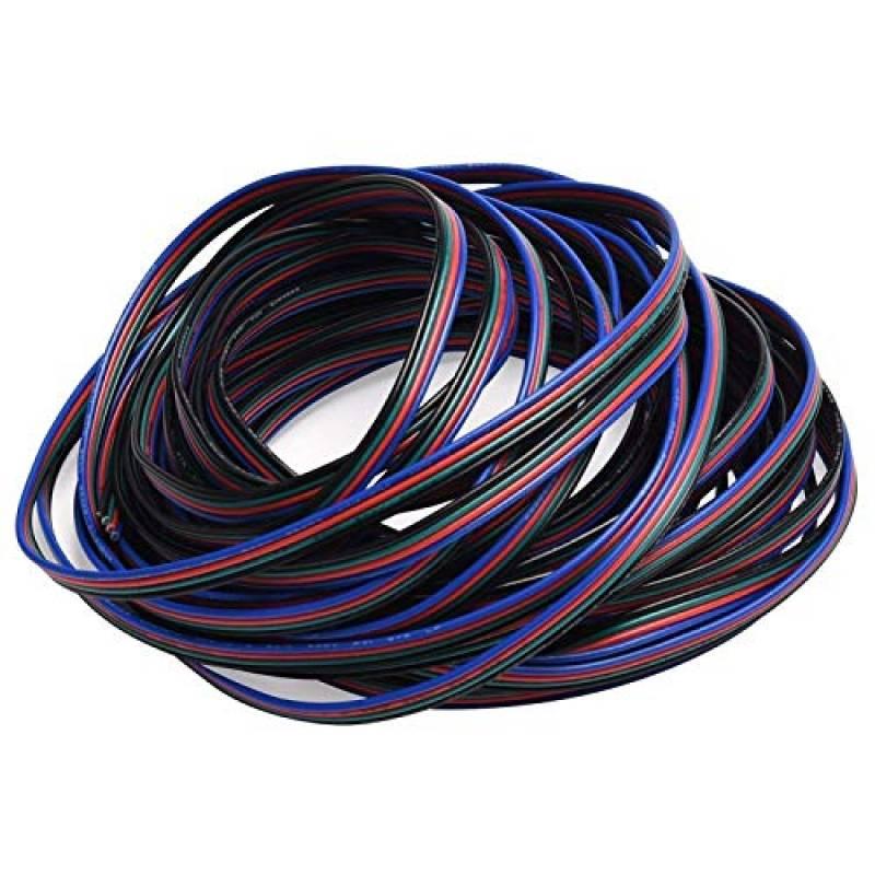 connecteur d/'extension 4broches rallonger le câble pour bande LED RGB5050 3528