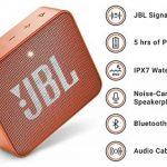 JBL GO 2 - Mini Enceinte Bluetooth portable - Étanche pour piscine & plage IPX7 - Autonomie 5hrs - Qualité audio JBL - Orange de la marque JBL image 2 produit