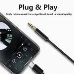 Joyguard USB C Jack Adaptateur, Adaptateur Jack USB Type C 3,5mm Aux Câble de Prise Casque Stéréo Voiture Adaptateur USB C à 3,5 mm [Noir] de la marque Joyguard image 1 produit