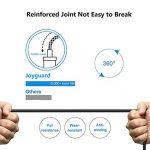 Joyguard USB C Jack Adaptateur, Adaptateur Jack USB Type C 3,5mm Aux Câble de Prise Casque Stéréo Voiture Adaptateur USB C à 3,5 mm [Noir] de la marque Joyguard image 3 produit
