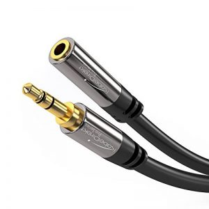 KabelDirekt 3m Câble d'extension audio (3.5mm Jack (m) à 3.5mm Jack (f), câble aux) PRO Series de la marque KabelDirekt image 0 produit