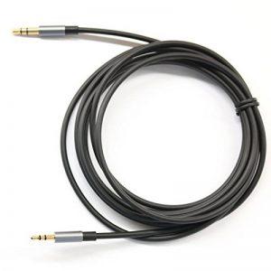 KetDirect Câble audio avec connecteurs plaqués or 3,5mm mâle à 2,5mm mâle Plusieurs coloris et tailles au choix de la marque KetDirect image 0 produit