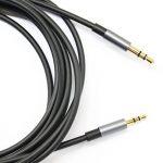 KetDirect Câble audio avec connecteurs plaqués or 3,5mm mâle à 2,5mm mâle Plusieurs coloris et tailles au choix de la marque KetDirect image 2 produit