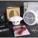 Kit Haut-Parleurs de Plafond avec Connexion Bluetooth de la marque e Audio image 4 produit