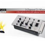 König KN-DJMIXER10 Table de mixage pour DJ avec 3 canaux de la marque König image 4 produit