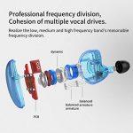 KZ ZS10Casque Pilote 10Écouteurs Intra-Auriculaires 4BA + 1dynamic Armature Écouteurs HiFi Bass Casque réducteur de Bruit dans Ear Monitors Black Without Mic de la marque J&R image 1 produit
