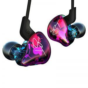 KZ-ZST écouteurs Casque Casque Earbud dans l'oreille Annulation de Bruit HiFi Lourd stéréo avec Micro pour téléphone Tablette PC MP3 MP4 de la marque J&R image 0 produit