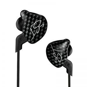 KZ-ZST écouteurs, Ollivan KZ-ZST Ecouteurs Casque Casque Earbud In Ear Annulation de bruit HIFI Heavy Bass Stereo avec Mic pour iPhone Samsung Xiaomi Téléphone Tablette PC MP3 MP4 de la marque J&R image 0 produit