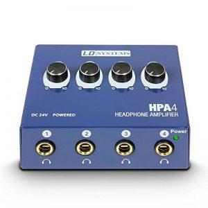 LD Systems LDHPA4 Ampli Casque 4 Canaux de la marque LD Systems image 0 produit
