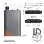 """LIAM & DAAN – """"LD AMP""""  HiFi   Amplificateur pour Casque Audio Portable   Faible Distorsion   Faible impédance de Sortie   Batterie Rechargeable   Micro USB de la marque LIAM&DAAN image 1 produit"""